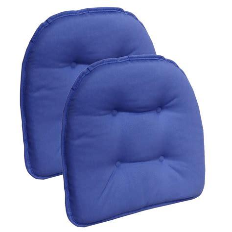 gripper non slip 15 in x 16 in twill blue summer tufted