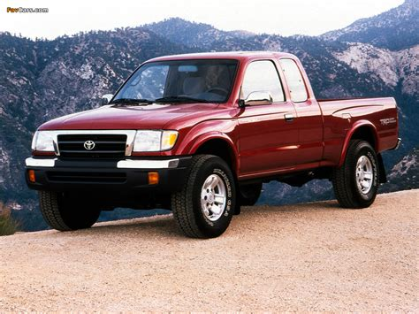 Toyota Tacoma 4wd by Toyota Tacoma Xtracab 4wd 1998 2000 Wallpapers 1024x768