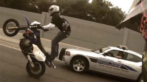 Motorcycle Stunts Ride Of The Century Roc Bike Vs Police