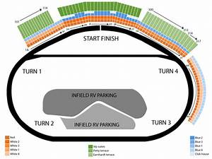 Las Vegas Motor Speedway Seating Chart Events In Las