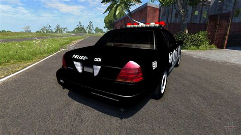 ford crown victoria police interceptor  beamng drive