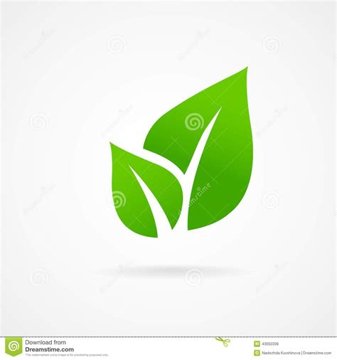 green eco letters logo leaves stock vector 428112841 eco icon green leaf vector stock vector illustration of