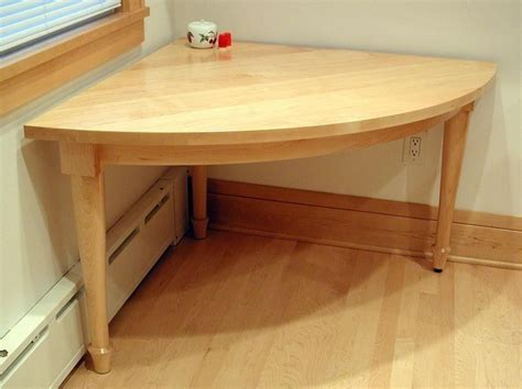 Hand Made Person Quarter Circle Kitchen Corner Table By