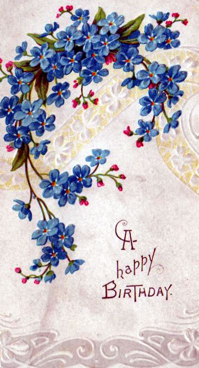 Free Birthday Card Picture by Birthday Free Vintage Illustrations