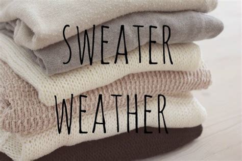 sweater weather 11 signs you 39 re ready to go back to