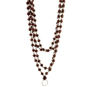 rudraksha mala silver tulku jewels