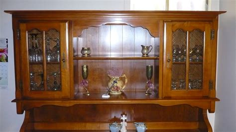 Furniture Nice Wooden Buffet Hutch For Contemporary