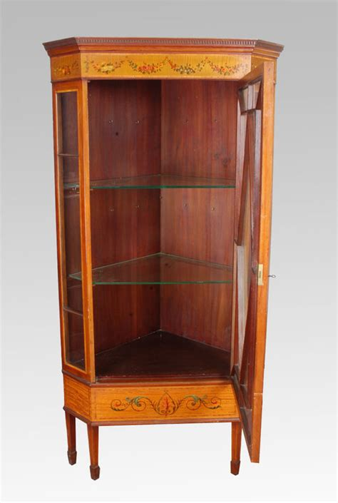 Display Cabinets For Sale - edwardian satinwood display cabinet for sale antiques