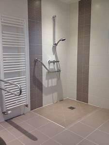 elp services accessibilite With porte d entrée pvc avec aménagement salle de bain pour personne à mobilité réduite