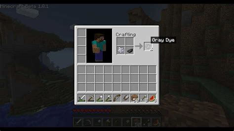 How To Get The Color by 351 08 Gray Dye Minecraft Item Guide