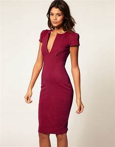 Summer Bodycon Dress Casual Office - Dresses