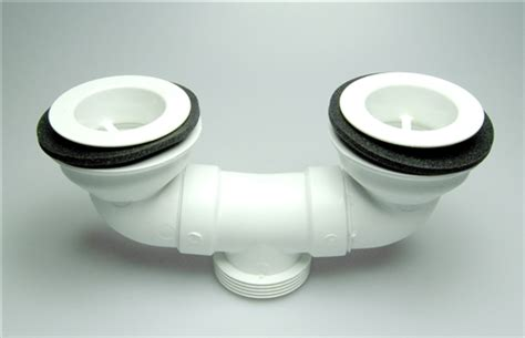 mustee 23301 dual drain assembly