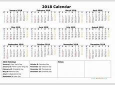 Calendar Saptamani 2018 Calendar Template 2018