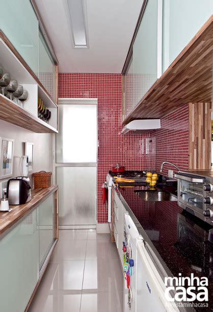 10 cozinhas pequenas estilo corredor Cozinha estreita