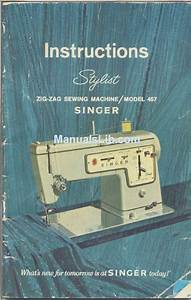 Singer 457 Instructions Manual Pdf Download