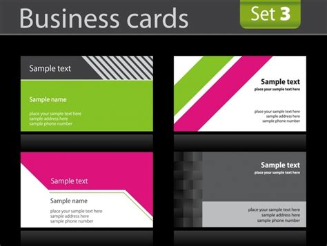 business card background design  vector