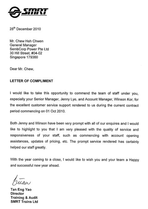 satisfied customers commend sembcorp  excellent service