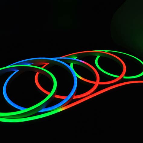 flat view led digital rgb flex neon spool
