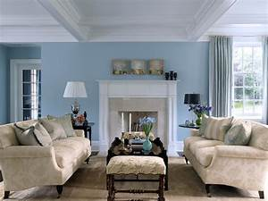 How, To, Decorate, Light, Blue, Living, Room, Walls