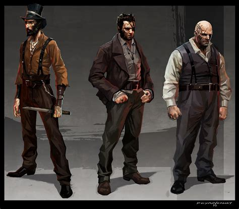 Image Thug Concept Art2 Dishonored Wiki Fandom