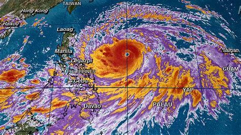 philippines evacuates thousands   super typhoon mangkhut yaktrinewscom