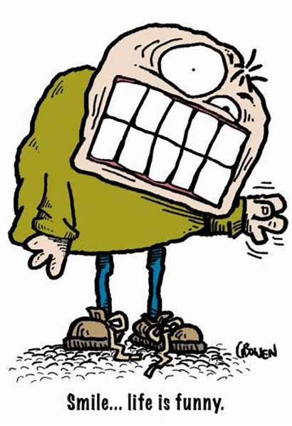 Smile Cartoon Funny Clipart Weird Cartoons Comics