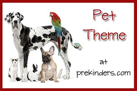 pets theme prekinders 184   pet