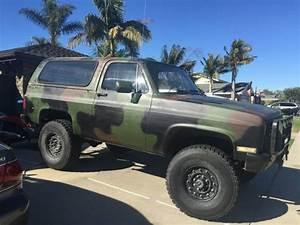 Bangshift Com This 1984 M1009 Military Blazer Is How
