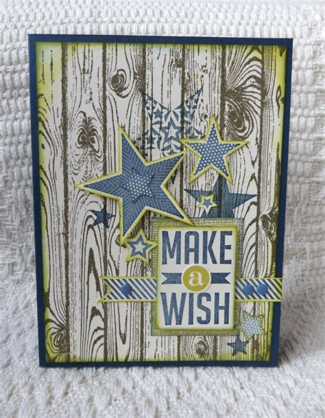 Stampin' Up Masculine Card