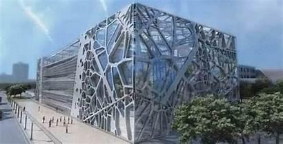 Amphibianarc Exhibition Headquarters Zoomlion Company Building Architects