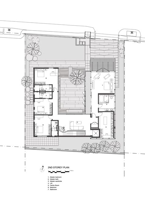style home plans with courtyard gallery of the courtyard house ar43 architects 17