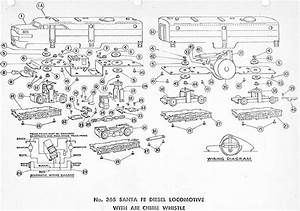 American Flyer Locomotive 365 Parts List  U0026 Diagram