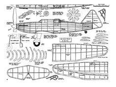 easy build balsa model airplanes  plans