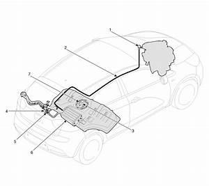 Kia Rio  Components Location - Evaporative Emission Control System