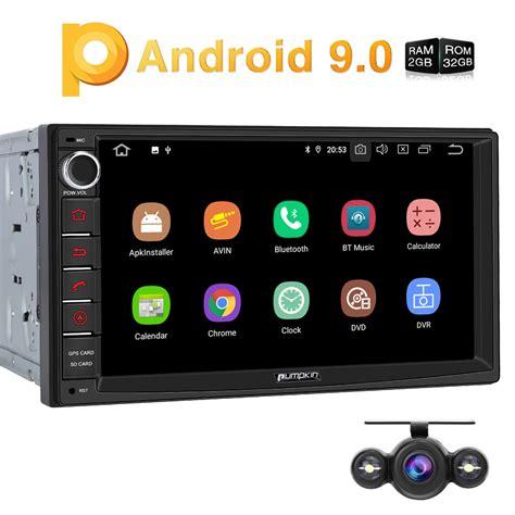 7 zoll navi 7 zoll android 9 0 autoradio doppel din gps navi radio 4g fm wifi swc dab kamera ebay
