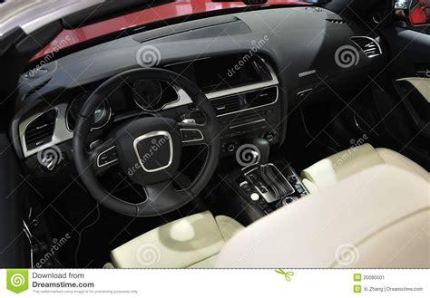Super Sport Car Interior Royalty-free Stock Image