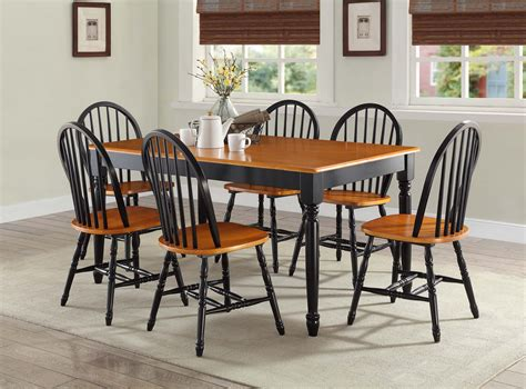 better homes and gardens kitchen table set better homes and gardens autumn lane farmhouse dining