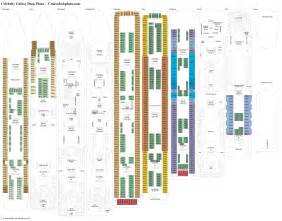 celebrity galaxy deck plans diagrams pictures video
