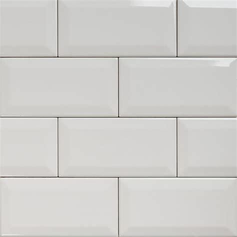 Subway - Bevelled Gloss White Tile 150×75 ~ Eco Tile Factory