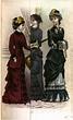 19th Century Historical Tidbits: 1882 Women's Fashions