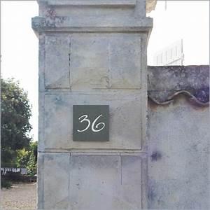 Plaque Numero Maison : plaques num ros de maison cr ations uniques en ardoise ~ Teatrodelosmanantiales.com Idées de Décoration