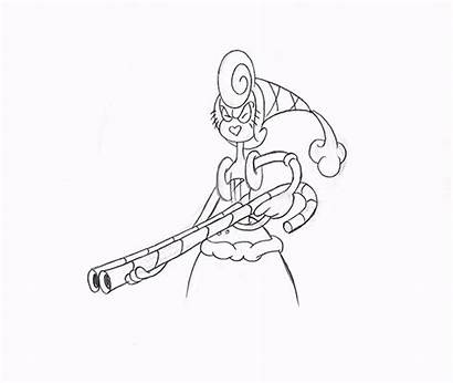 Cuphead Bon Baroness Animation Open Wide Sketch