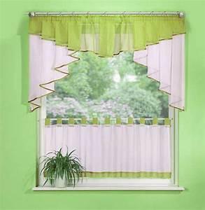 Gardinen Set Küche : scheiben gardinen set 2 teile 20319 ebay ~ Orissabook.com Haus und Dekorationen