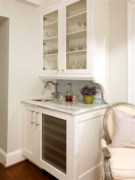 Small Bar Cabinet Ideas by 15 Stylish Small Home Bar Ideas Hgtv