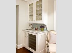 Furniture White Kitchen Design Ideas With Awesome Wet Bar