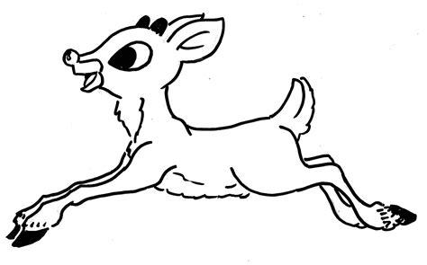 baby reindeer coloring pages   print