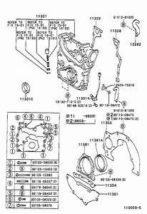 2002 Toyota Tacoma Engine Crankshaft Seal