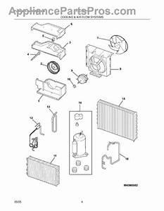 Parts For Frigidaire Fac107p1a2  Cooling  U0026 Air Flow