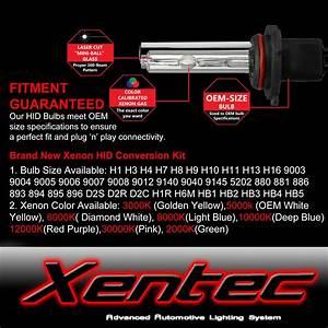 Xentec Hid Xenon 55w Headlight Hi Low Kit H4 H7 H11 H13
