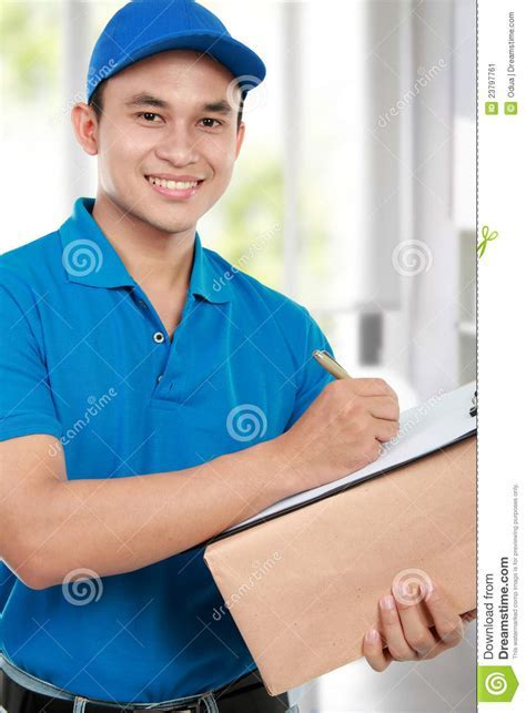 Delivery Man Stock Image   Image: 23797761